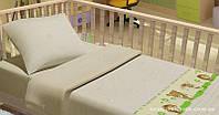 Комплект постельного белья в кроватку KidsDreams ЛІСОВІ ЗВІРЯТА 110х150 см