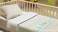 Комплект постельного белья в кроватку KidsDreams ПОСМІШКА 110х150 см
