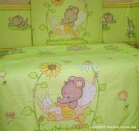 Комплект постельного белья в кроватку KidsDreams СЛОНИКИ 110х150 см