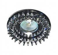 Встраиваемый светильник Feron CD2540 прозрачный серый