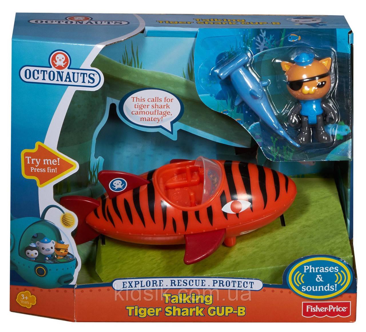 """Игровой набор """"Интерактивная тигровая акула и Квайзи"""" -Октонавты, фото 1"""