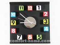 Настенные часы ДомАрт Кубики Цветные A