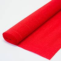 Бумага креп красная 580 Италия
