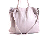 (Adagio) Итальянская кожаная сумка-шоппер BIP0-106 бежевый