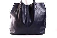 (Adagio) Итальянская кожаная сумка-шопер BIP0-108 синий