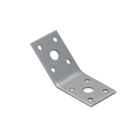 Уголок 135 ° равнобокий KLR1 (50 мм х 50 мм х 35 мм х 2,5 мм) Domax Польша строительный крепеж, фото 1
