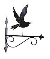 """Подставка для подвесного цветка """"Птица 5"""""""