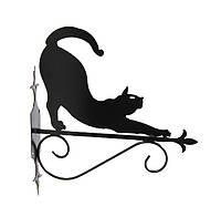 """Подставка для подвесного цветка """"Кошка 11"""""""