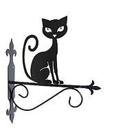 """Подставка для подвесного цветка """"Кошка 5"""""""