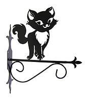 """Подставка для подвесного цветка """"Кошка 1"""""""