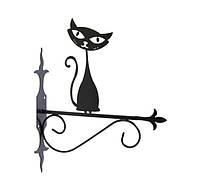 """Подставка для подвесного цветка """"Кошка 6"""""""