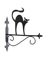 """Подставка для подвесного цветка """"Кошка 4"""""""