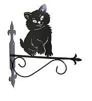 """Подставка для подвесного цветка """"Кошка 7"""""""