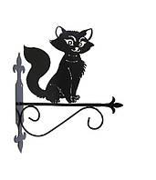 """Подставка для подвесного цветка """"Кошка 2"""""""