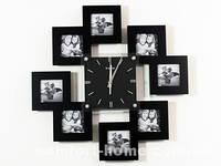 Часы Настенные Фигурные - Семейные 8 Кадров