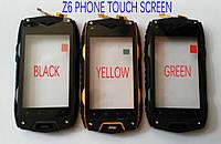 Сенсорный экран (Touchscreen) для смартфона jeep z6 черный цвет, фото 1