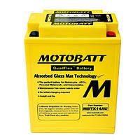 Мото аккумулятор MOTOBATT MBTX14AU, фото 1