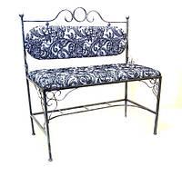 Кованый диван спинка №3