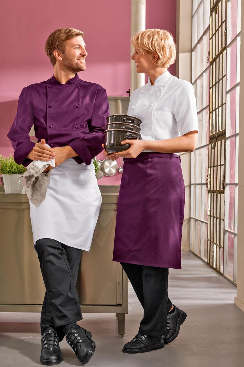 Передник для повара и официанта TEXSTYLE ниже колена без карманов
