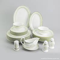Столовый сервиз Мята Sakura из костяного фарфора 27 предметов арт SK-0522