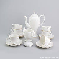 Чайный сервиз Ландыш Sakura из костяного фарфора 14 предметов арт SK-0506