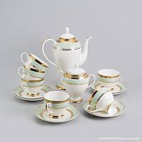 Чайный сервиз Океан Sakura из костяного фарфора 14 предметов арт SK-0507