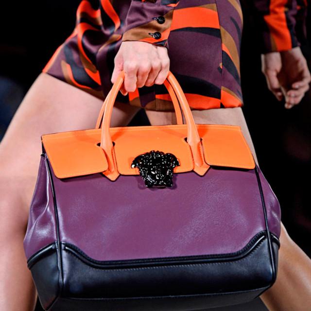 Versace Palazzo Empire Bag Fashion Show