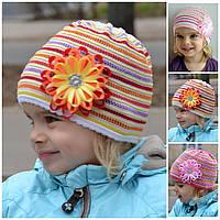Весенняя ажурная шапка