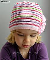Вязанная шапочка весенняя