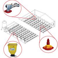 Линии кормления для напольного бройлера (индюка, утки) CODAF