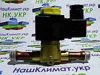 Электромагнитный (соленоидный) клапан, вентиль whicepart 1068/4 ∅ 1/2 (12.7 мм) под пайку с катушкой и клемник, фото 1