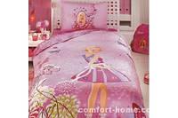 """Постельный комплект для подростков ТМ """"TAC Disney"""" Barbie Butterfly"""