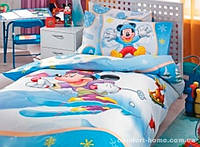 """Постельный комплект для подростков ТМ """"TAC Disney"""" Mickey Slalom"""