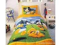 """Постельный комплект для подростков ТМ """"TAC Disney"""" Mickey Garden"""