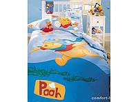 """Постельный комплект для подростков ТМ """"TAC Disney"""" Winnie the Pooh Pilot"""