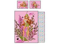 """Постельный комплект для подростков ТМ """"TAC Disney"""" Winx Nature Flora"""