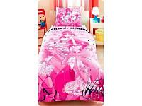 """Постельный комплект для подростков ТМ """"TAC Disney"""" Winx Believix Couture Flora"""