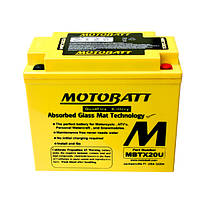 Мото аккумулятор MOTOBATT MBTX20U
