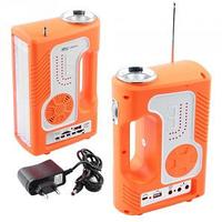 Фонарь переносной YAJIA YJ-2889 SY, 1W+30LED, USB, радио