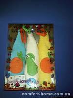 Салфетки Lares Soft кухонное 48X48 3 Предмета