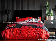 Постельное белье VALERON из египетского хлопка Esperanza red