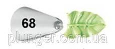 Насадка кондитерская №068 листик 11 мм