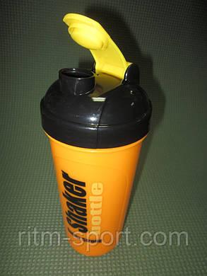 Шейкер з сіточкою для спортивного харчування 700 мл, фото 2