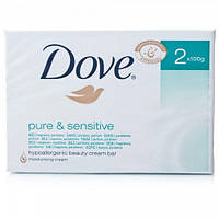 Dove крем-мыло Pure & Sensitive, 100 г