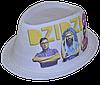 Шляпа челентанка фотопринт х/б DZIDZIO