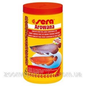 Sera arowana - корм для арован 1000 мл