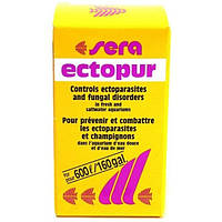 Sera ectopur - боротьба з грибком та ектопаразитами на 600 л - 130 г