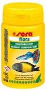 Sera flora - корм росл., зі спірулиною. Пластівці 100 мл