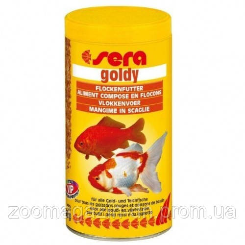 Sera goldy - корм д/золотих рибок. Пластівці 10000 мл