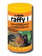 Sera raffy I - для черепах та ящірок (гамарус, анчоус, креветки) 100 мл